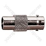 9.5 mm Coaxial Plug to BNC Line Socket Radio Frequency Adaptor