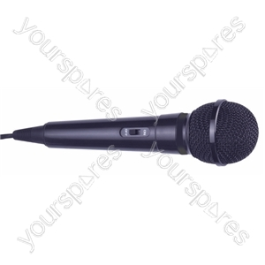 Dynamic Handheld Karaoke Microphone - Colour Black