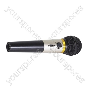 Mr Entertainer Karaoke Microphone with Built-in Echo Control