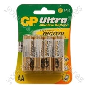 GP Ultra Alkaline Batteries - Type AA