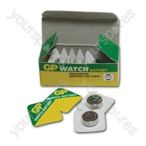 GP Silver Oxide Button Cell Blister of 1 - Type 393-A1