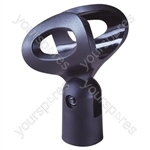Microphone Holder with Swivel Adjustment 28mm