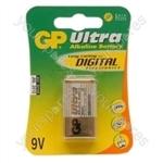GP Ultra Alkaline Batteries - Type PP3