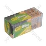 GP Batteries Ultra Alkaline 24 pack - Size AA