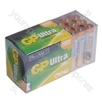 GP Batteries Ultra Alkaline 24 pack - Size AAA