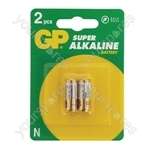 GP GP910A Super Alkaline LR1 (N Type) Batteries - Packing 2