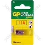 GP Batteries GP11A-C1 High Voltage Super Alkaline Battery (Card Of One)