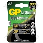 GP Batteries Twin Pack AA Lithium Batteries