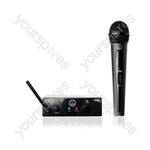 AKG WMS40 UHF MINI Handheld Radio Microphone system