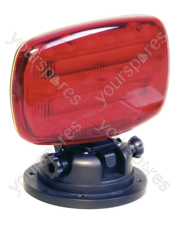 battery powered red led emergency light with magnetic. Black Bedroom Furniture Sets. Home Design Ideas