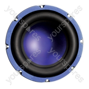 "Purple 10"" 250 W Round 4 Ohm Car Speaker"