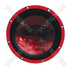 "SoundLAB Red 15"" Chassis Speaker 350W 4Ohm"