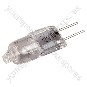 Clear 10 W 12 V G4 Bi-Pin Capsule Lamp - Power (W) 50
