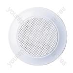 Plastic Circular Ceiling Grill - Diameter (mm) 100mm
