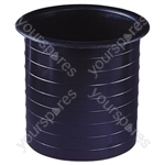Moulded Plastic Port Tube (100 mm)