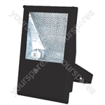 Floodlight RX7S Slim Die-Cast for 70W Metal Halide - Colour Black