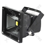 Eagle Waterproof IP65 Black Flood Lights - Lamp Type 10W LED