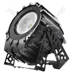 Flash LED PAR 64 300W 6IN1 COB RGBWA+UV + BARNDOOR
