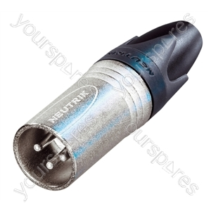 Neutrik NC3MXX  Male 3 Pin XLR Line Plug