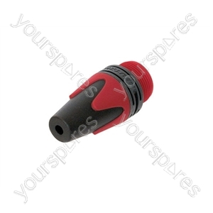 Neutrik Coloured Bushing for XX Series - Colour Red