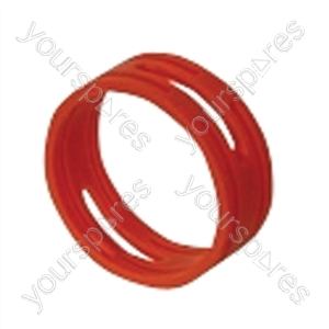 Neutrik XXR XLR Coding Ring For XX Series.   - Colour Red