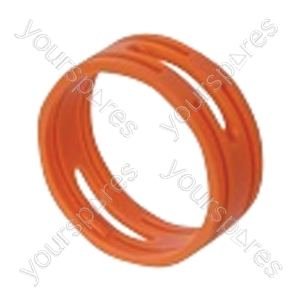 Neutrik XXR XLR Coding Ring For XX Series.   - Colour Orange