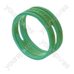 Neutrik XXR XLR Coding Ring For XX Series.   - Colour Green