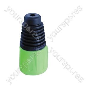 Neutrik BSX XLR Back Boot - Colour Green