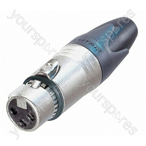 Neutrik NC3FXX-EMC Female 3 Pin XLR Line Connector With LC Filter