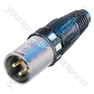 Neutrik NC3MXCC Male 3 Pin Digital XLR Line Plug