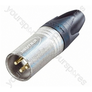 Neutrik NC3MXX-EMC Male 3 Pin XLR Line Plug With LC Filter