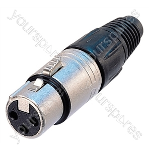 Neutrik NC5FX-D25 Female 5 Pin XLR Line Connector