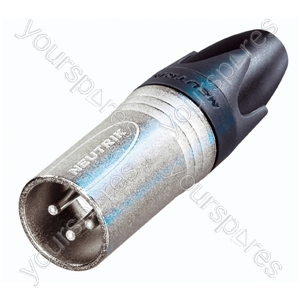Neutrik NC3MX-D25 Male 3 Pin XLR Line Plug