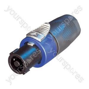 Neutrik NL4FX Standard 4 Pole Speakon Cable Connector - Packing Bulk of 50