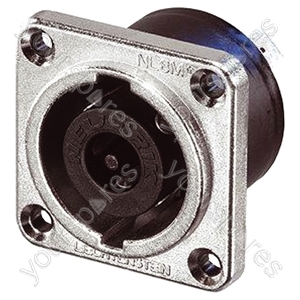 Neutrik NLT8MP 8 Pole Metal Speakon Chassis Socket