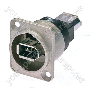 Neutrik NA13946 Firewire Chassis Mounting Coupler