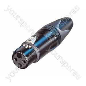 Neutrik NC3FXX Female 3 Pin XLR line Socket