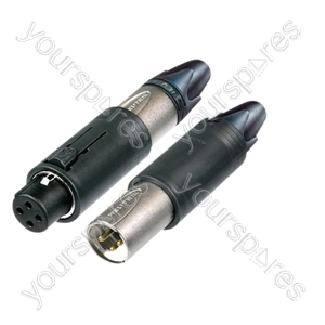 Neutrik NC3FM-C ConvertCon 3 Pole Unisex XLR Cable Connector