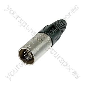 Neutrik NC6MX Male Pin Line Connector Silver Contacts