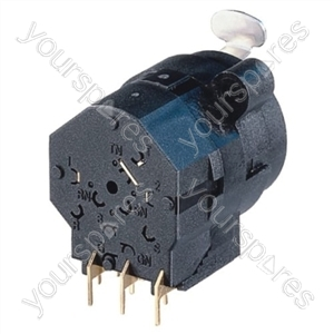 Neutrik NCJ9FI-H Horizontal PCB Mount 3 Pin XLR Female Receptacle with 6.35mm Switching Stereo Jack