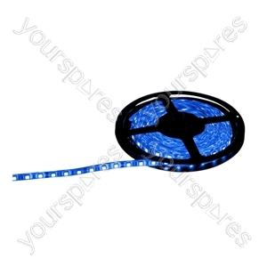 NJD Coloured Extra Flexible LED Tape light IP65 5M - Colour Blue