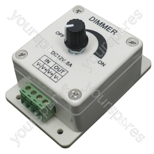 12 V Dimmer for Single Colour Tape