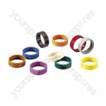 Neutrik XXR XLR Coding Ring For XX Series.   - Colour Black