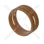 Neutrik XXR XLR Coding Ring For XX Series.   - Colour Brown