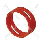 Neutrik XXR XLR Coding Ring For XX Series.   - Colour Red