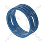 Neutrik XXR XLR Coding Ring For XX Series.   - Colour Blue