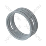 Neutrik XXR XLR Coding Ring For XX Series.   - Colour Grey