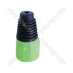 Neutrik BSX XLR Back Boot - Colour Green