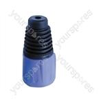 Neutrik BSX XLR Back Boot - Colour Blue