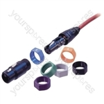 Neutrik XCR XLR Coding Ring  - Colour blue